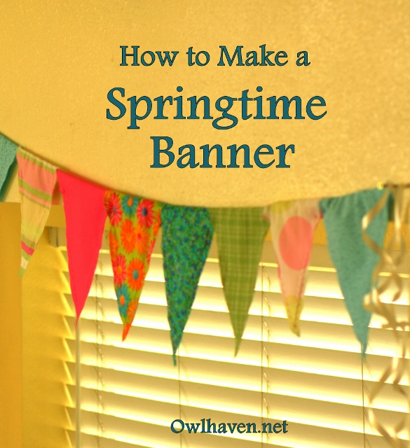 How to make a banner