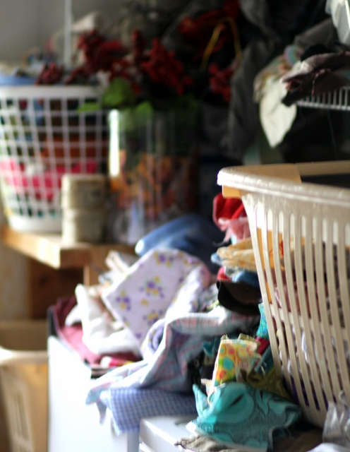 Laundry room-- the messy middle
